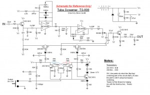 tubescreamer schematic